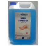 UniQue 5 Litre Hand and Surface Alcohol Based Sanitiser