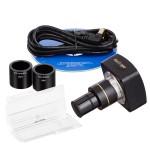 10MP USB Microscope Digital Camera + Calibration Kit