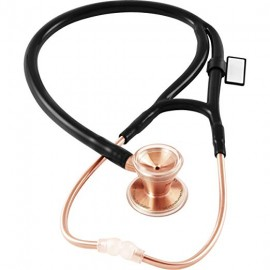 MDF Rose Gold Classic Cardiology Stainless Steel  (Black)